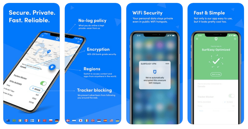 Windscribe vpn is another best and free vpn for iphone
