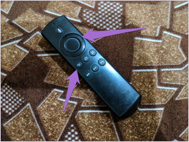 Reset Firestick Using a Remote