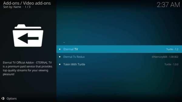 Select Eternal TV