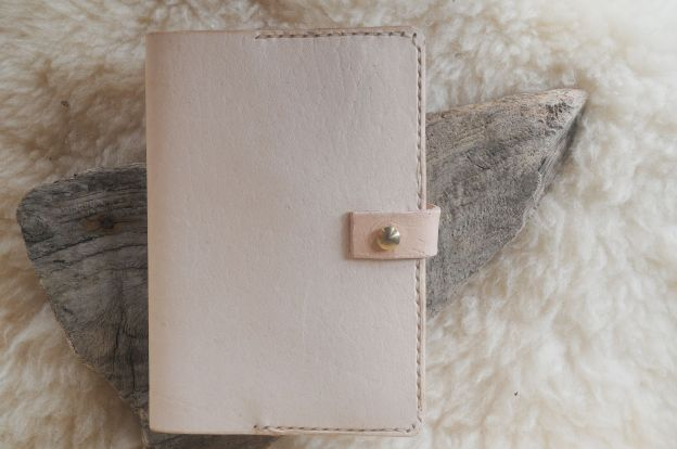 Handmade Leather Notebook Cover
