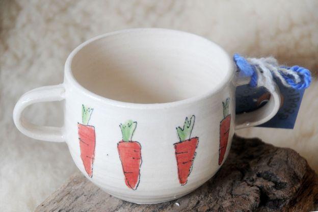 Carrot Soup Mug