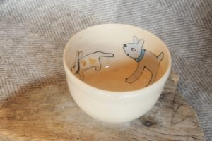 Firestone Studios Dog Bowl