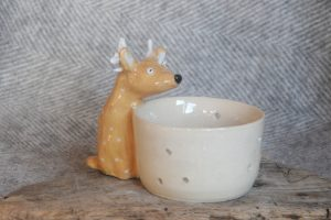 Firestone Studios Reindeer Tealight Holder