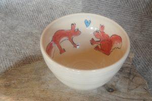 Firestone Studios Squirrel Bowl