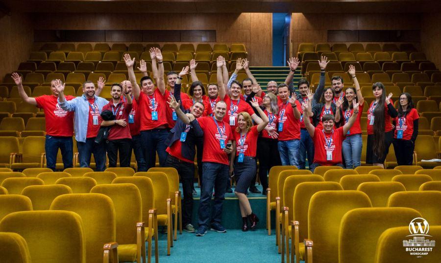 WordCamp Bucharest 2017 Organizers and Volunteers