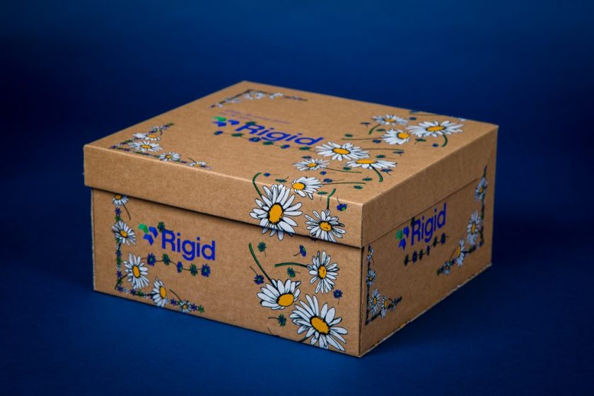 cardboard box product photography
