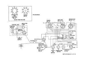 Figure 7112 Space heater wiring diagram