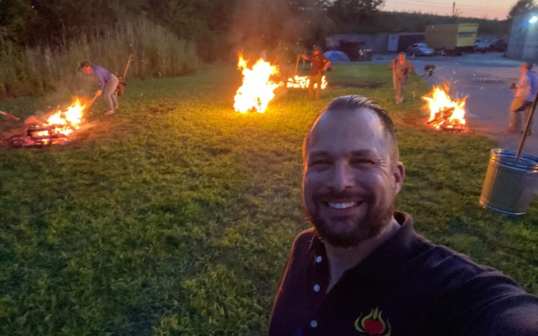 FIRE Graduate Stephanie Boyd on Her Firewalking Journey