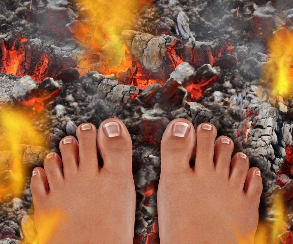 firewalking is empowering