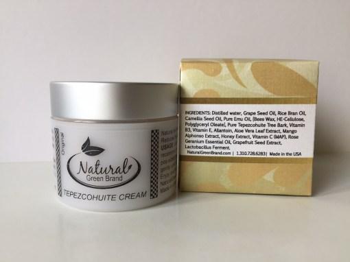 Tepezcohuite cream
