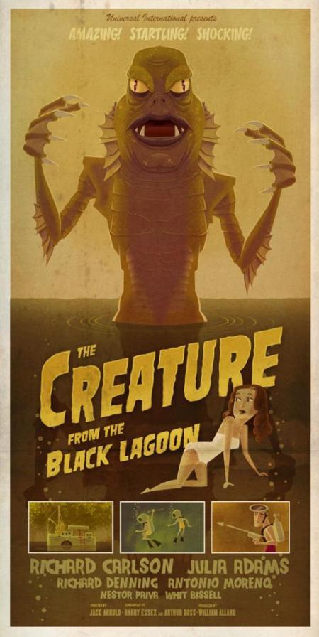 JamesGilleardCreatureFromTheBlackLagoon