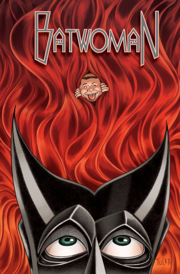 MAD Batwoman Cover