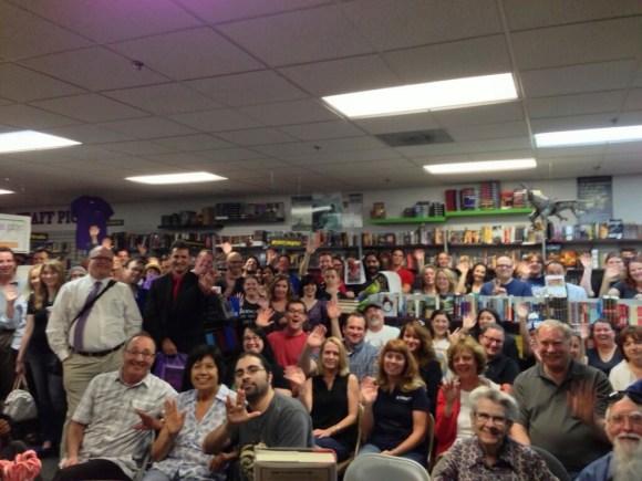 Joe Hill at Mysterious Galaxy Bookstore (7)