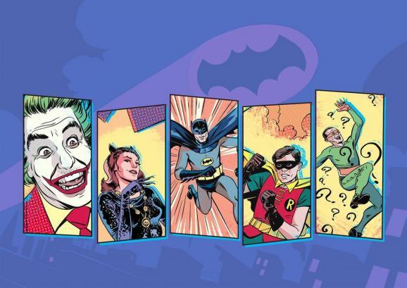 Batman-66-Characters-Poster