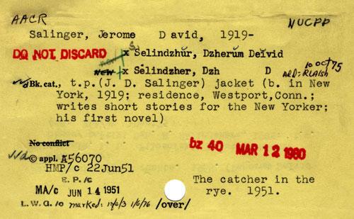 Salinger_card