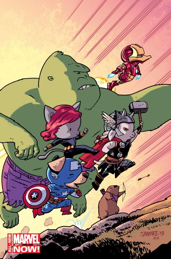 Avengers-World-1-Chris-Samnee-Animal-Variant