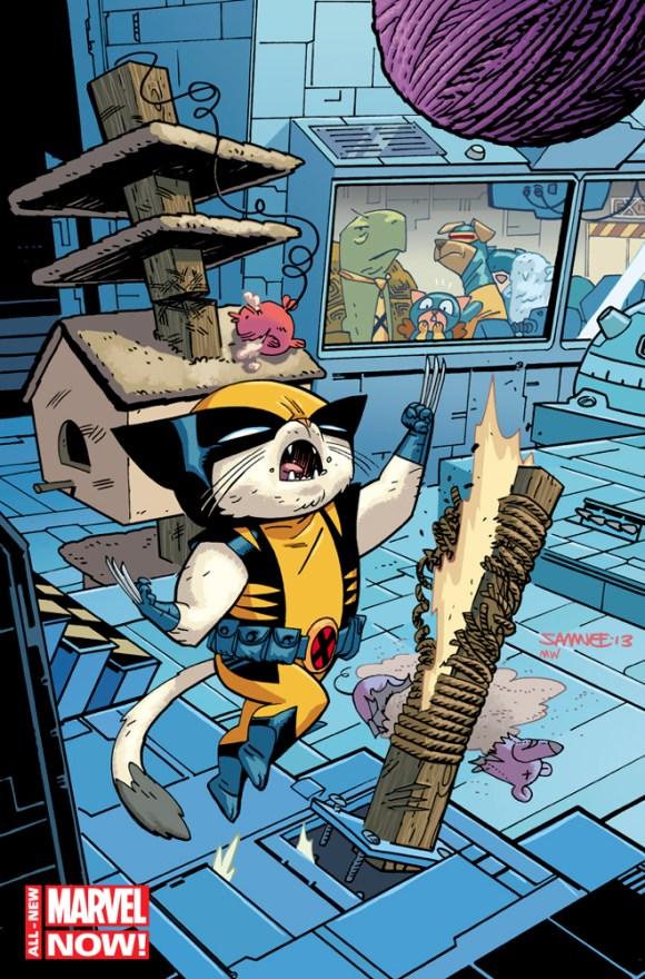 Savage-Wolverine-14.NOW-Chris-Samnee-Animal-Variant