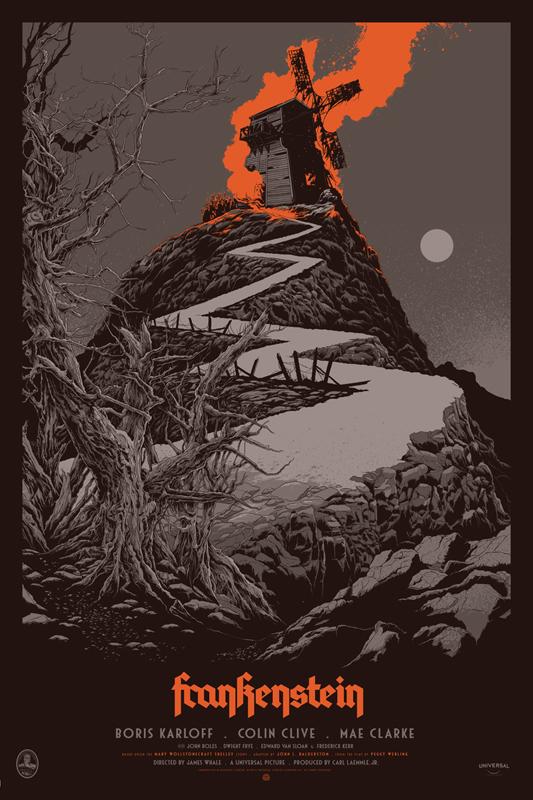 Ken-Taylor-Frankenstein-regular-poster