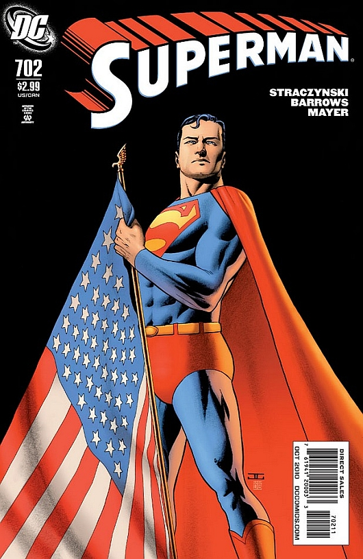 Superman-702-with-american-flag-John-Cassaday