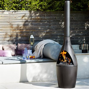 Morso Chiminea outdoor fireplace