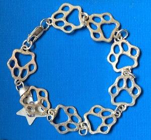 Starfish Pawprint bracelet