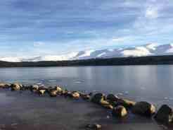 Loch Morlich 17c degrees Winter 2017