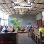 Indoors at Stone Bistro in Escondido