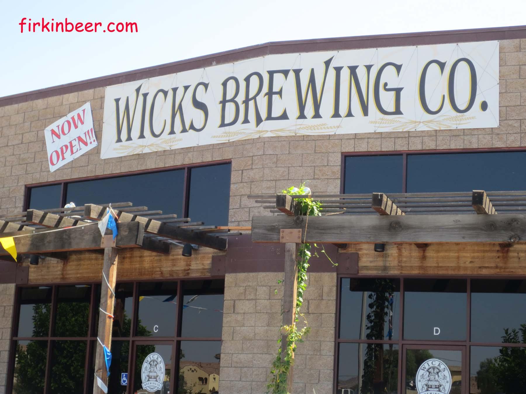 Wicks Brewing Company Riverside Ca My Firkin Beer Blog