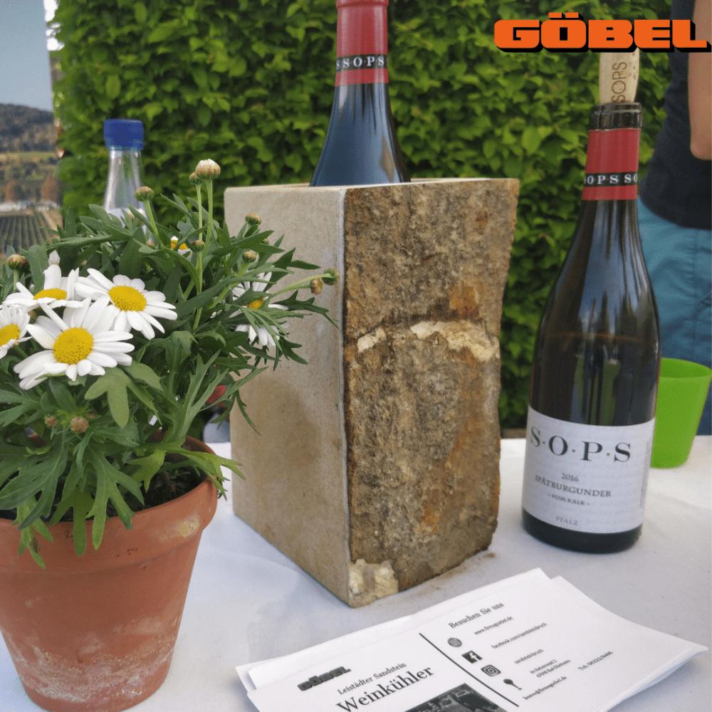 Sandstein Weinkühler Special