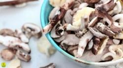 Schaaltje met bospaddenstoelen