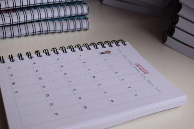 Huishoudplanner 2019 - Firma Huishouden