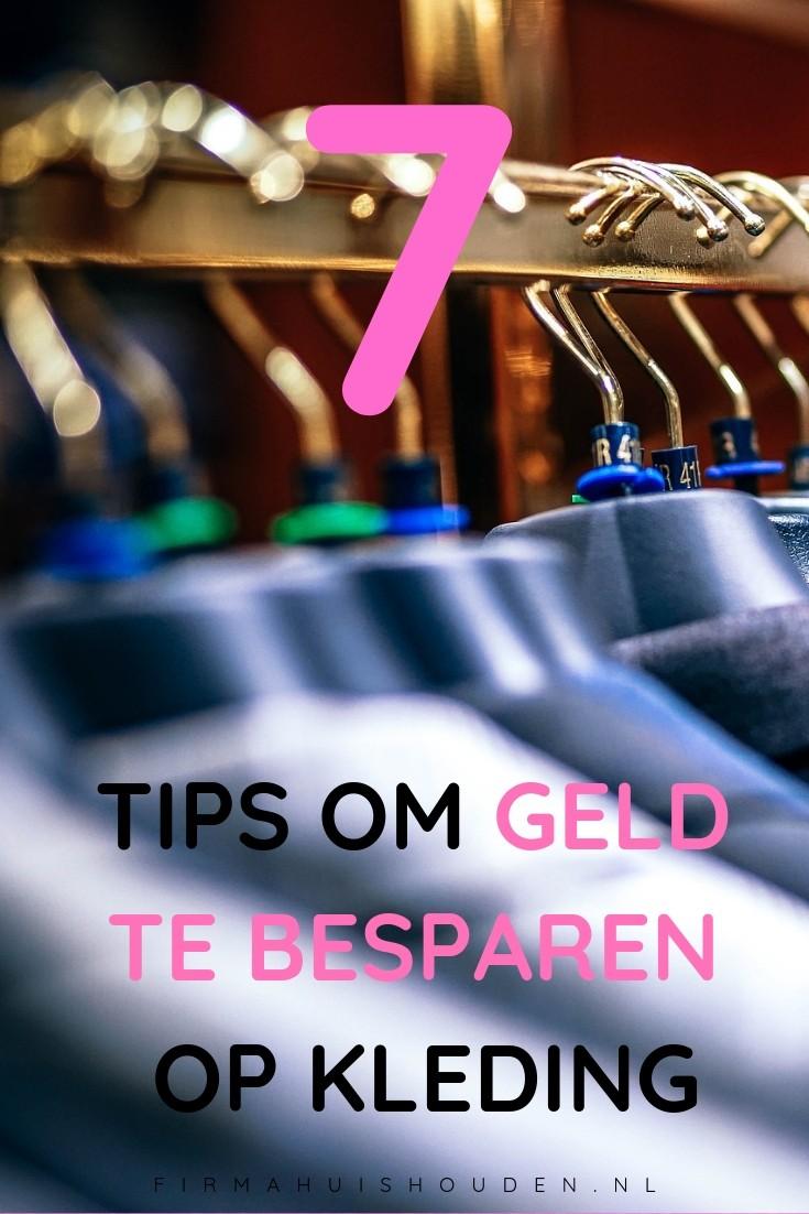 7 tips om geld te besparen op kleding