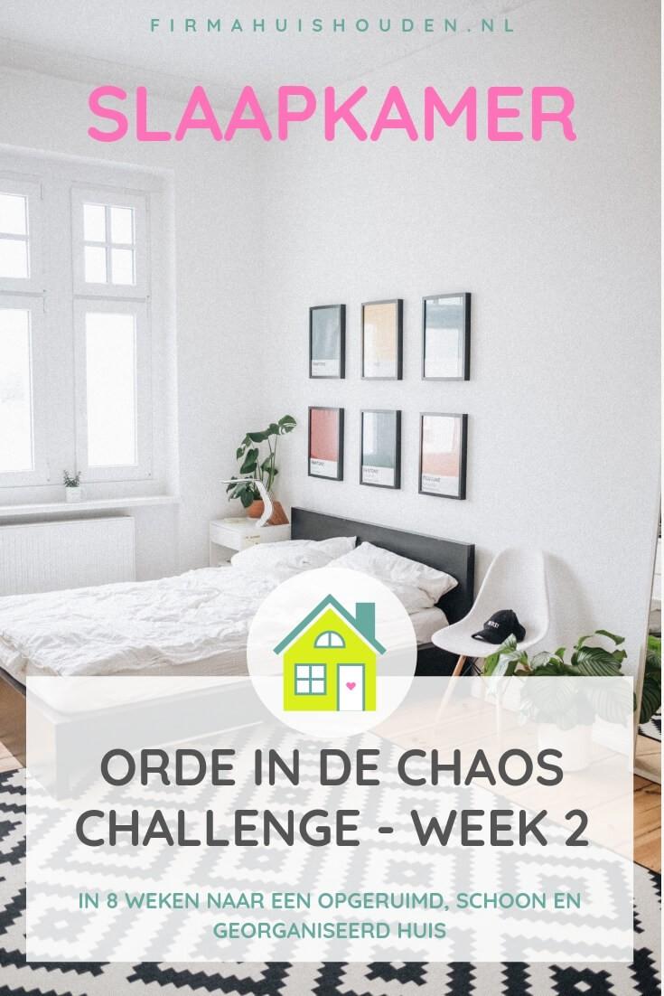 Orde in de chaos Challenge | week 2 - Slaapkamer