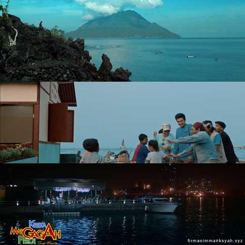 Elemen Pantai Di FIlm KMGP the Movie
