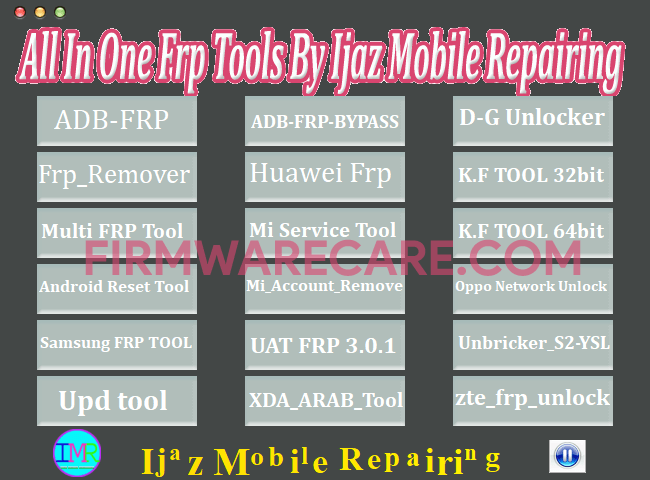 All In One FRP Tools