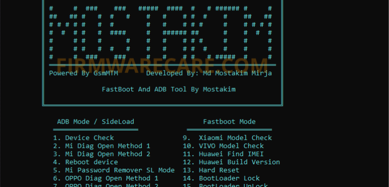 Fastboot and ADB Tool