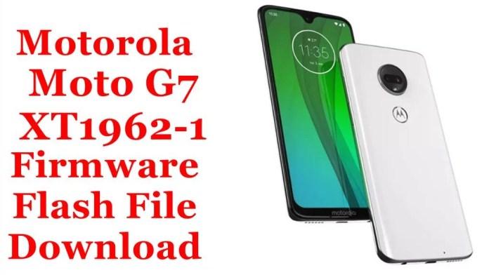 Motorola Moto G7 XT1962-1