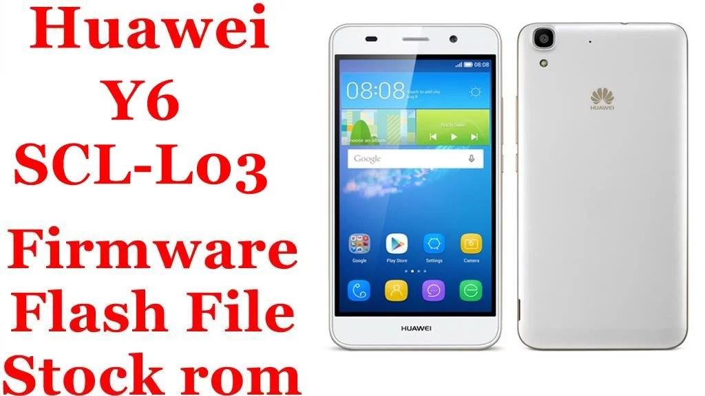 Huawei Y6 Scl