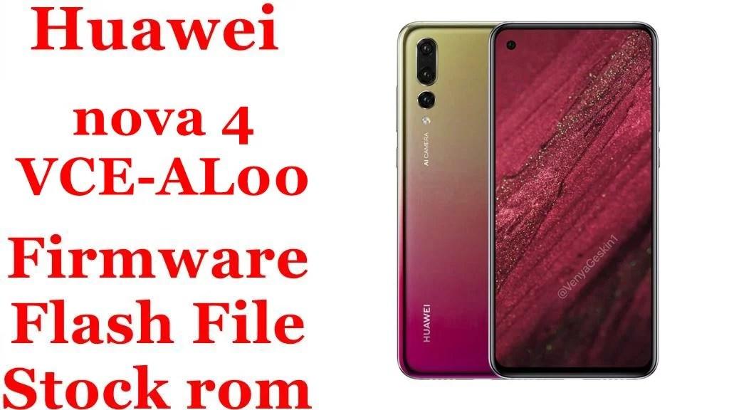 Huawei nova 4 VCE AL00