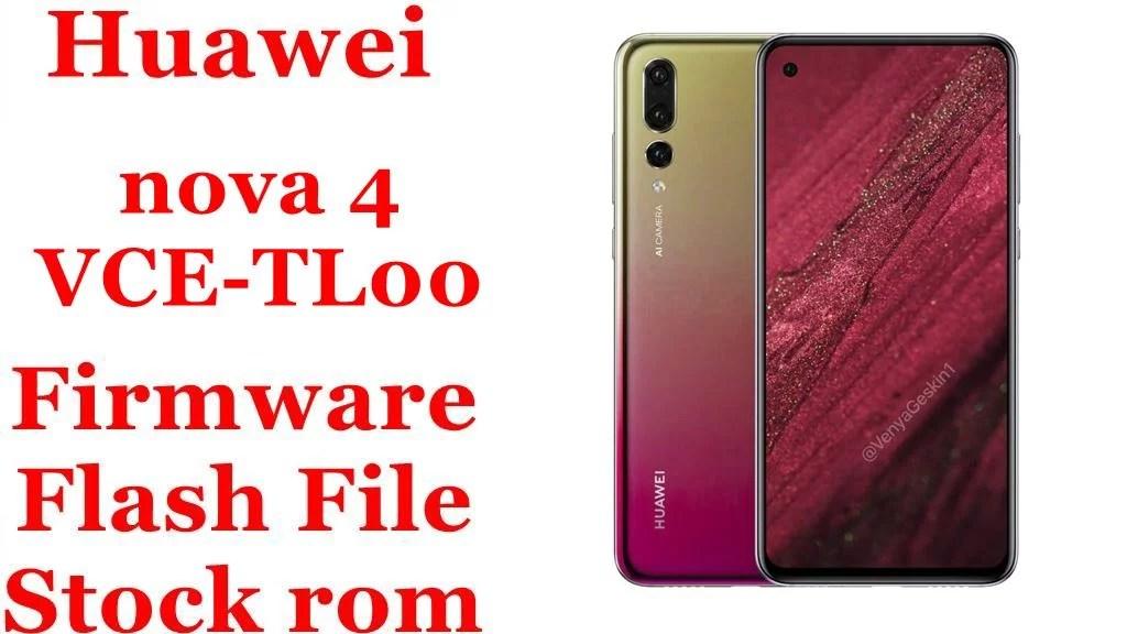Huawei nova 4 VCE TL00