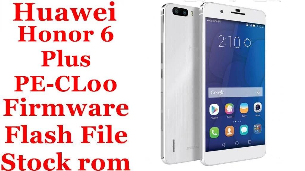 Huawei Honor 6 Plus PE CL00