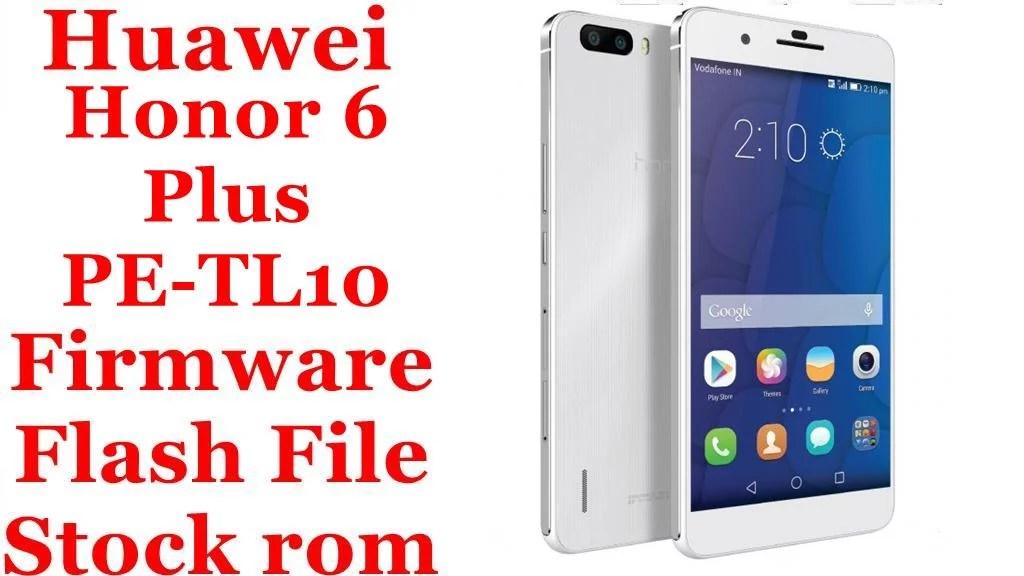 Huawei Honor 6 Plus PE TL10