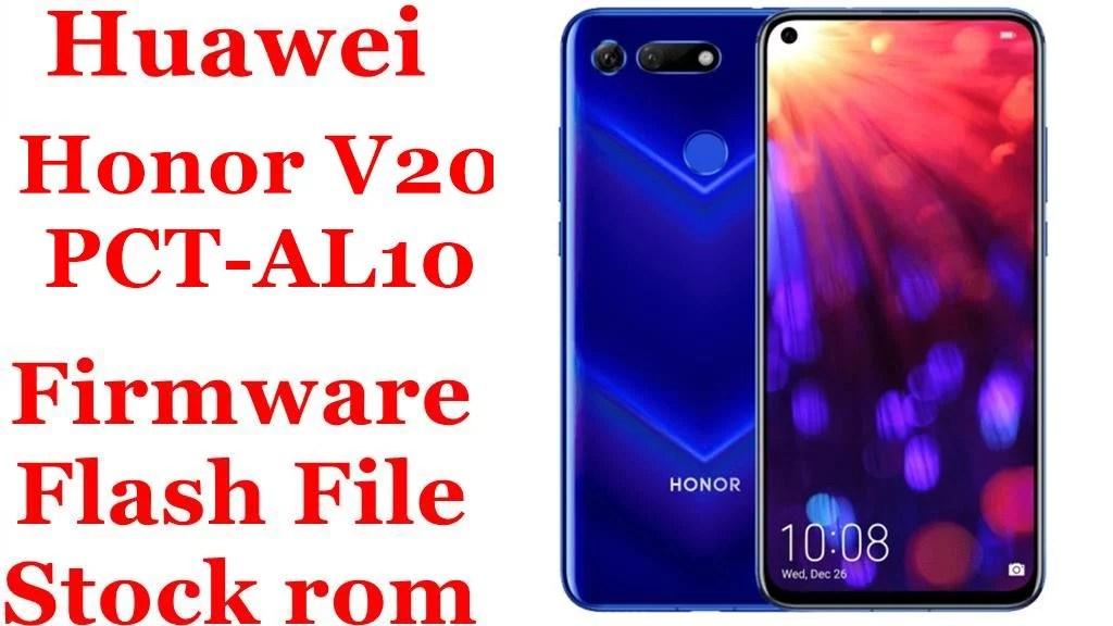 Huawei Honor V20 PCT AL10