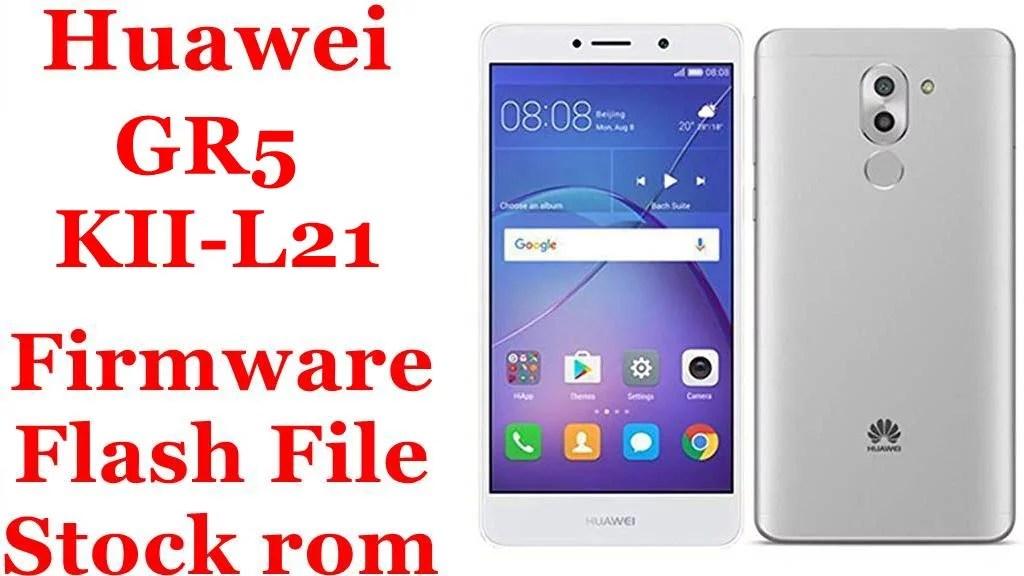 how to flash huawei kii l21 firmware