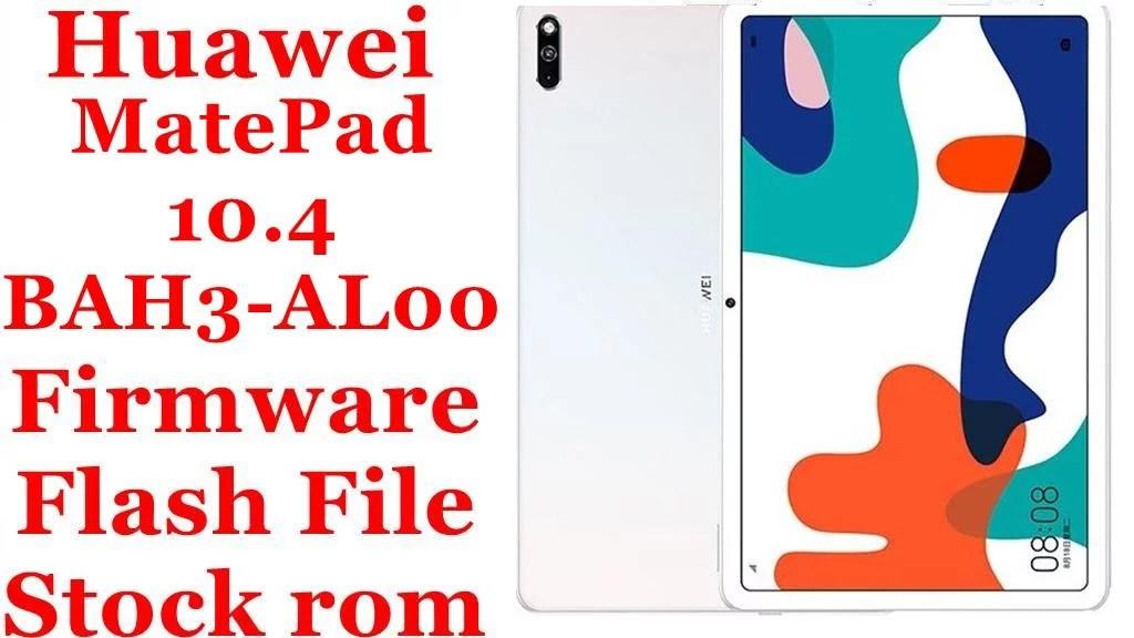 Huawei MatePad 10.4 BAH3 AL00