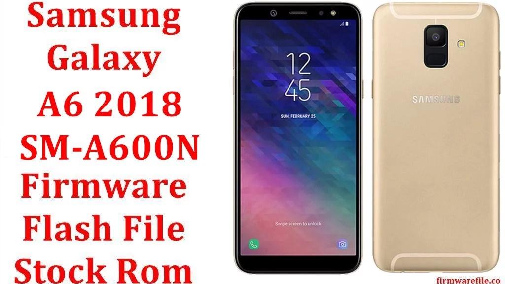 Samsung Galaxy A6 2018 SM A600N