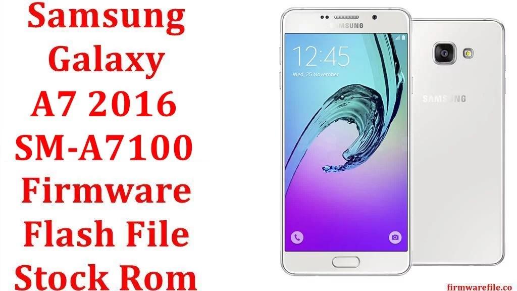 Samsung Galaxy A7 2016 SM A7100