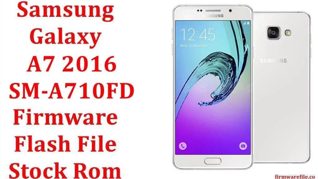 Samsung Galaxy A7 2016 SM A710FD