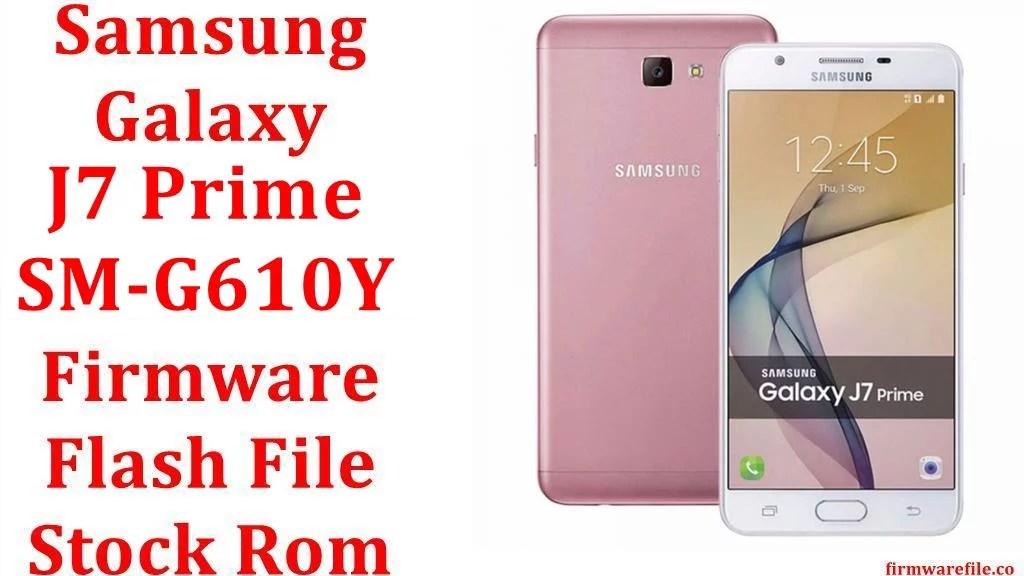 Samsung Galaxy J7 Prime SM G610Y