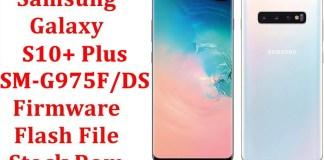Samsung Galaxy S10 Plus SM G975F DS